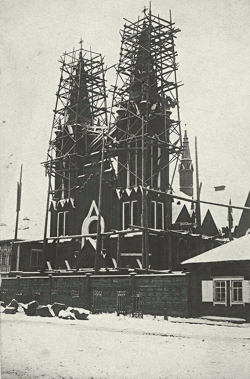 Строительство католического костела