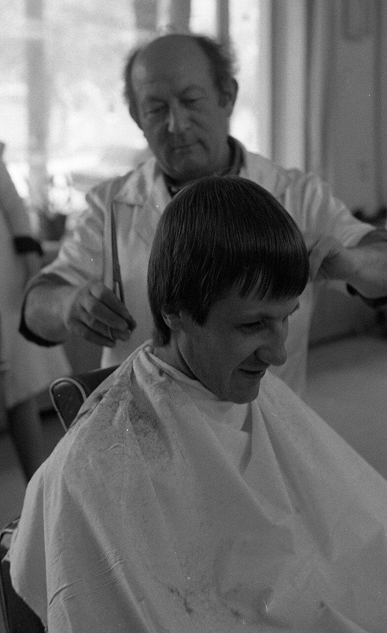 Я в парикмахерской