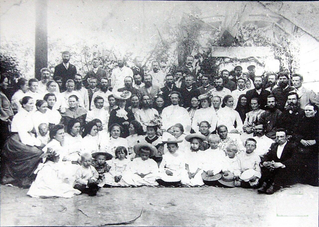 Интеллигенция и знать города Пржевальска. 1910 год
