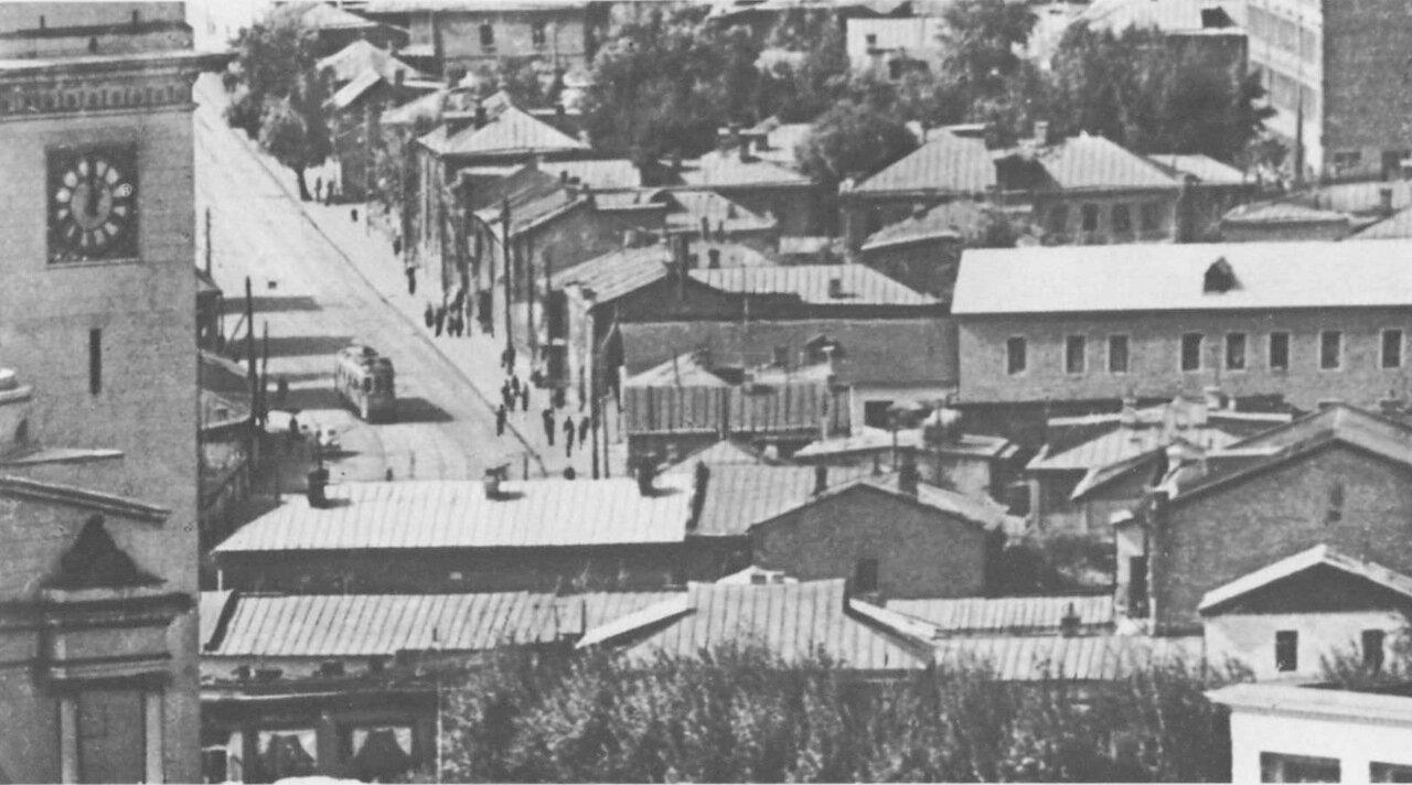 В районе Большой Дорогомиловской улицы. Конец 30-х годов