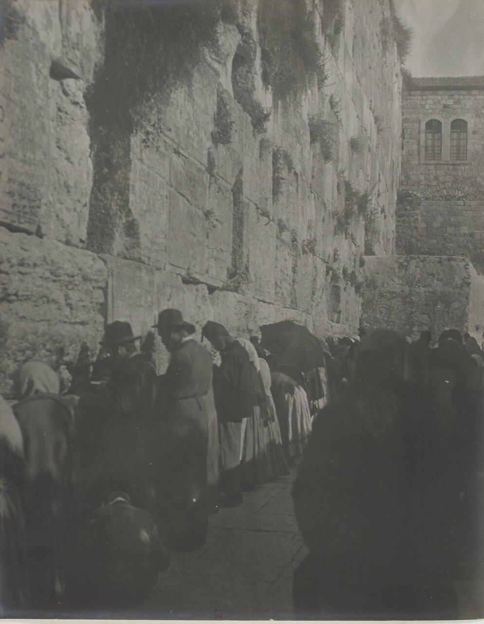 Палестина. Иерусалим. У Стены Плача