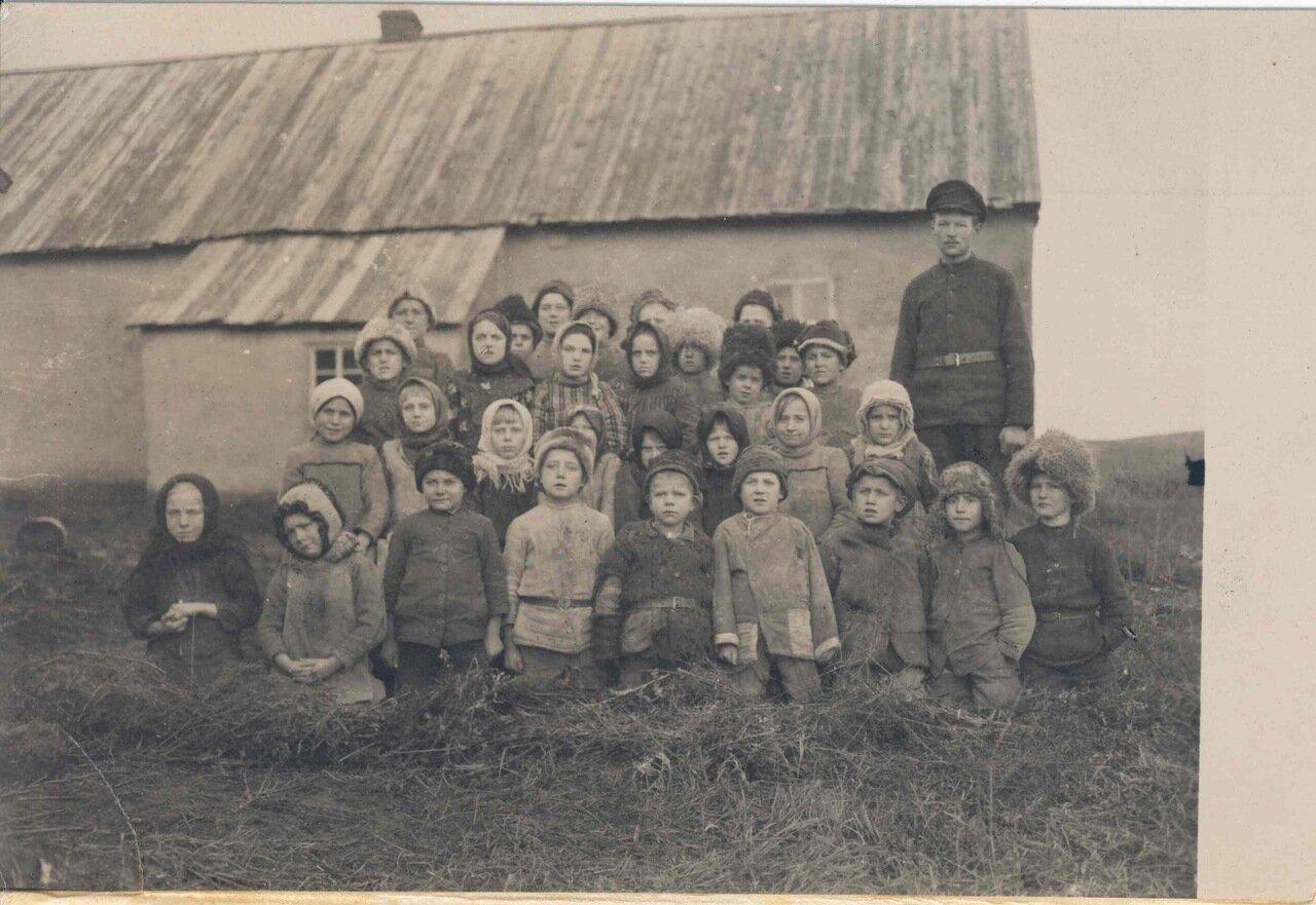 Школьники в Оренбурге
