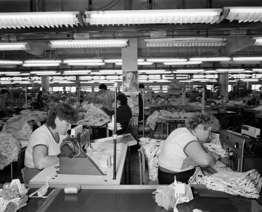 1989 год. На швейной фабрике города Братска