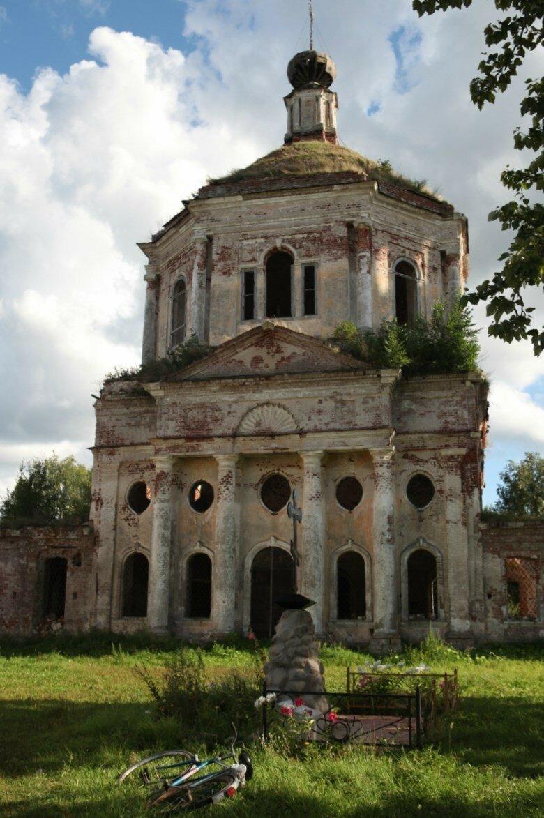 Кузнецово - деревня на трассе Бежецк-Тверь