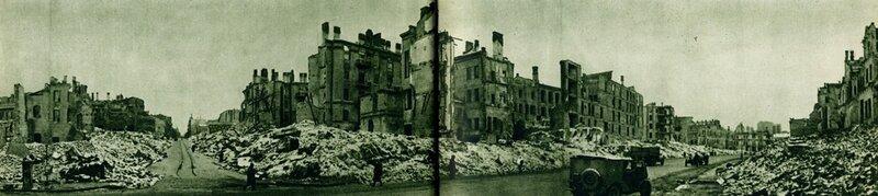 Таким був Хрещатик в 1943 році після звільнення від гітлерівських загарбників.