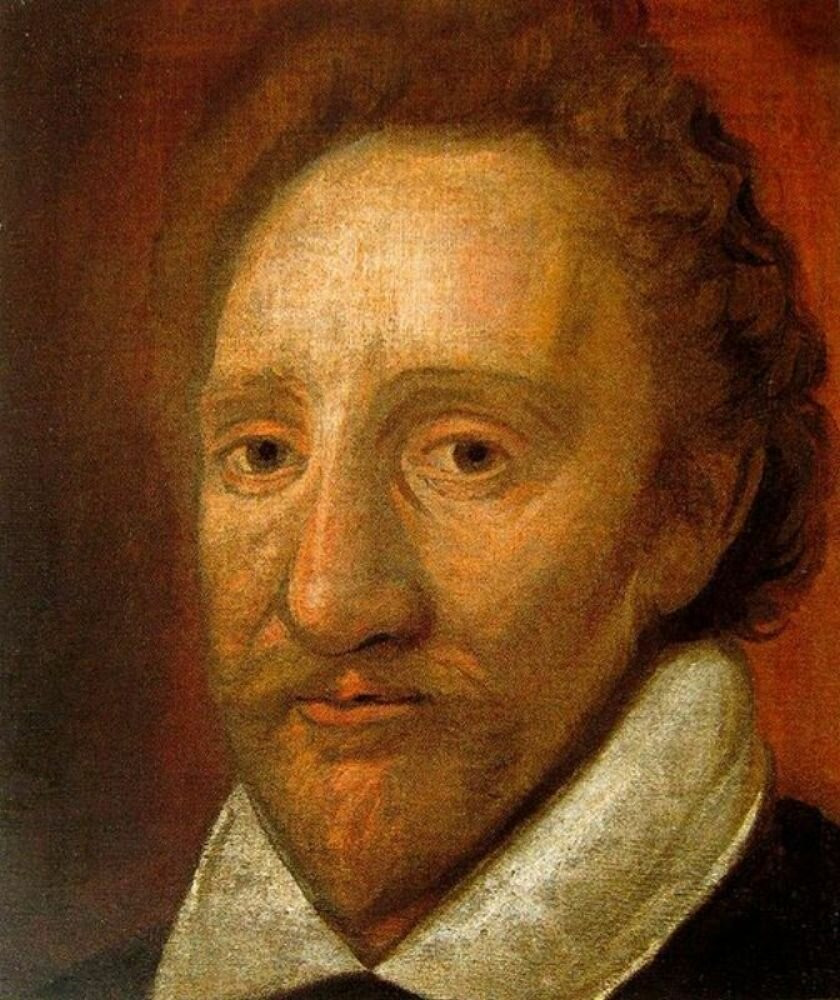 Бёрбедж, Ричард. ок. 1600г.  Portrait of Richard Burbage, ( 1568 – 1619)