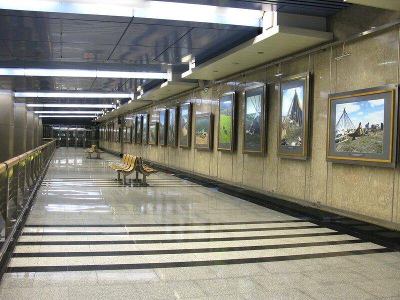 Галерея на станции Выставочная.