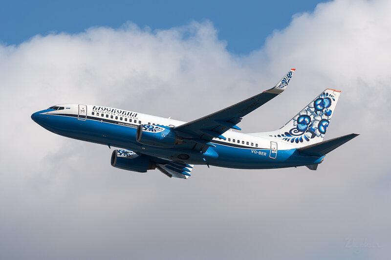 Boeing 737-7L9 (VQ-BER) Московия DSC6808
