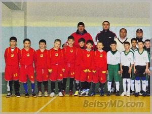 Спортивный турнир по мини-футболу для юниоров