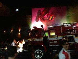 Пожар — более 240 погибших в ночном клубе в Бразилии