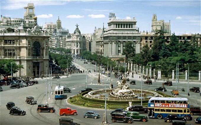 Мадрид во времена Франко  (1950-е)