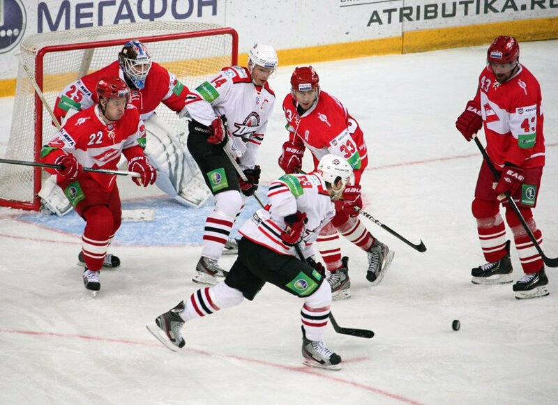 «Спартак» vs «Донбасс» 3:1 чемпионат КХЛ 2012-2013 (Фото)