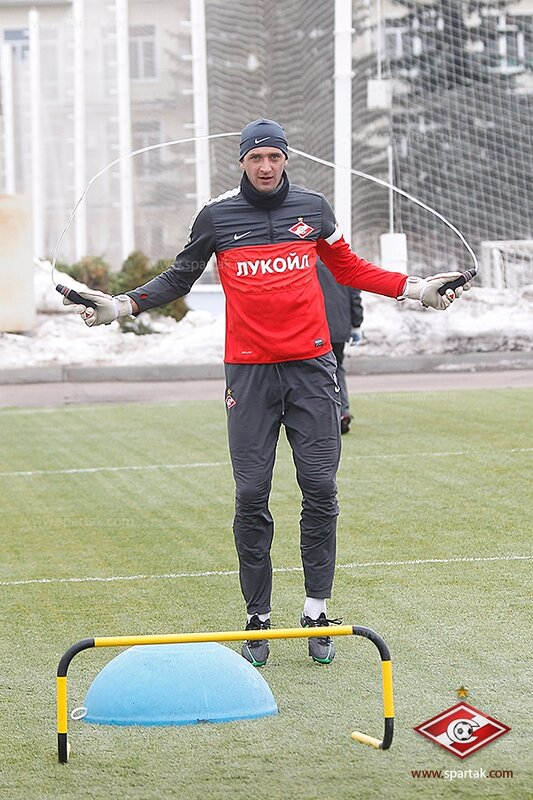 Игровая тренировка «Спартака» в Тарасовке (Фото)