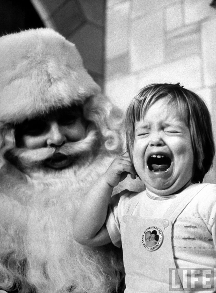 Школа Санта Клаусов. Фото журнала LIFE
