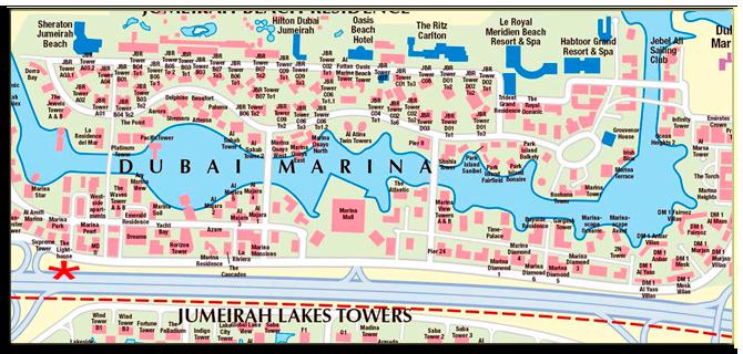 ОАЭ. Дубаи. Dubai Marina
