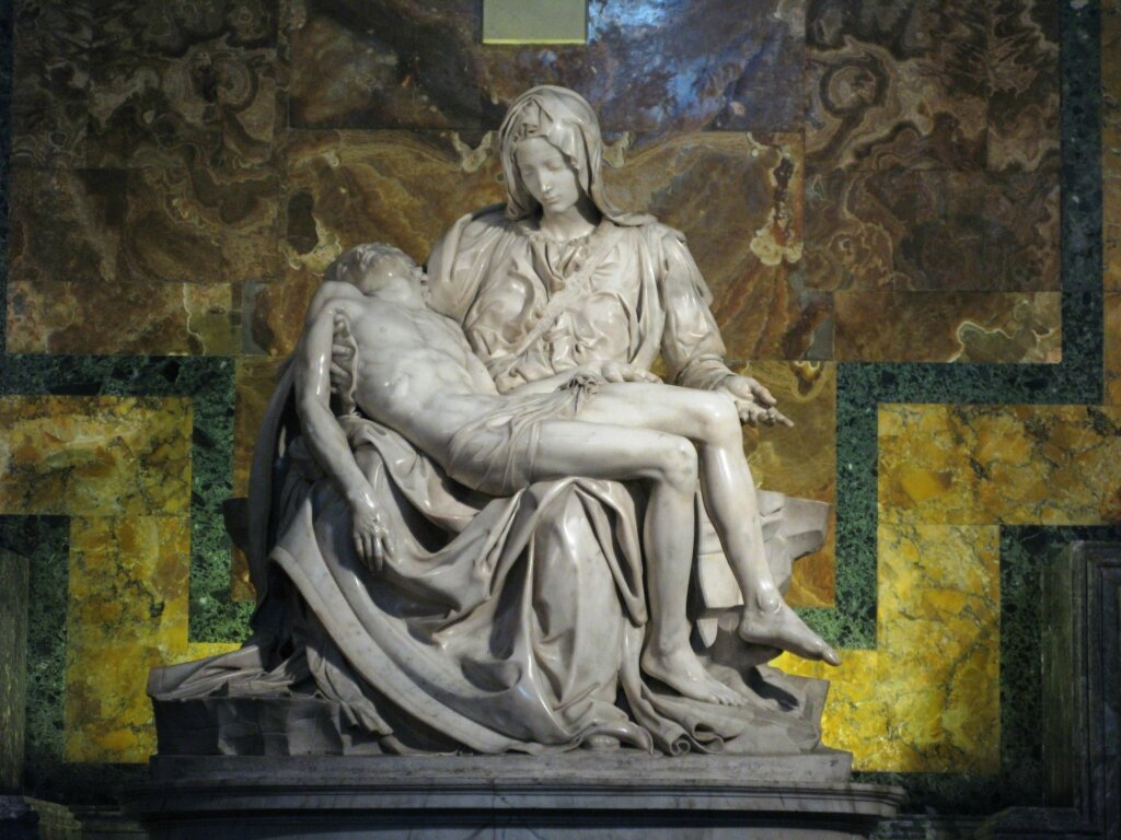 michelangelo pieta analysis Pietà (the florence pietà or the deposition of christ) michelangelo 1540's  michelangelo was working on this sculpture toward the end of his life,.