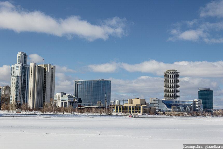 Екатеринбург-Сити. Панорама.