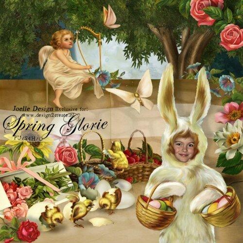 ПАСХА И ВЕСНА СКРАПЫ . Spring Glorie