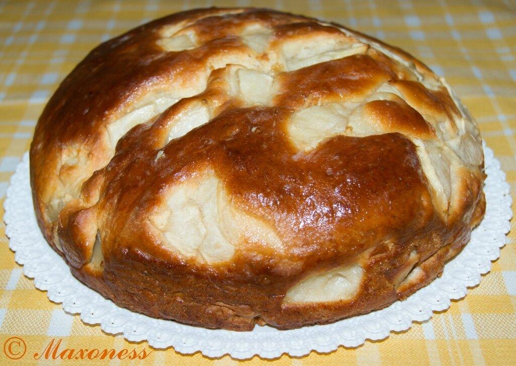 Пирог с яблоками по-белорусски. Белорусская кухня