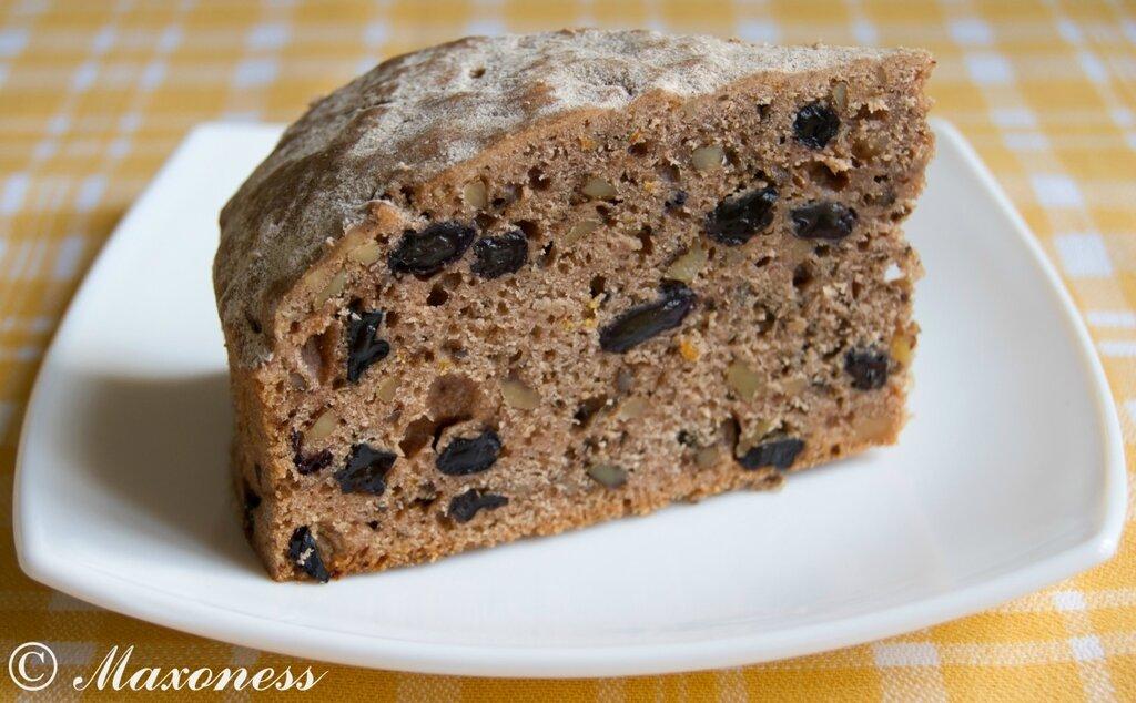 Постный ореховый пирог с изюмом. Греческая кухня