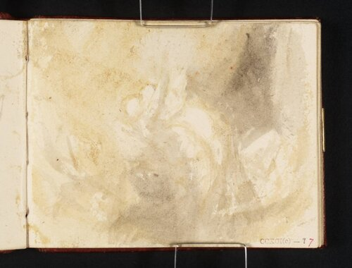 Figure Subject circa 1834 by Joseph Mallord William Turner 1775-1851