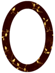 Gold Ivy Oval Frame.png