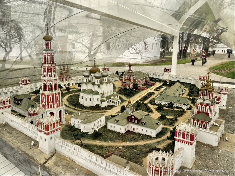 Макет Новодевичьего монастыря