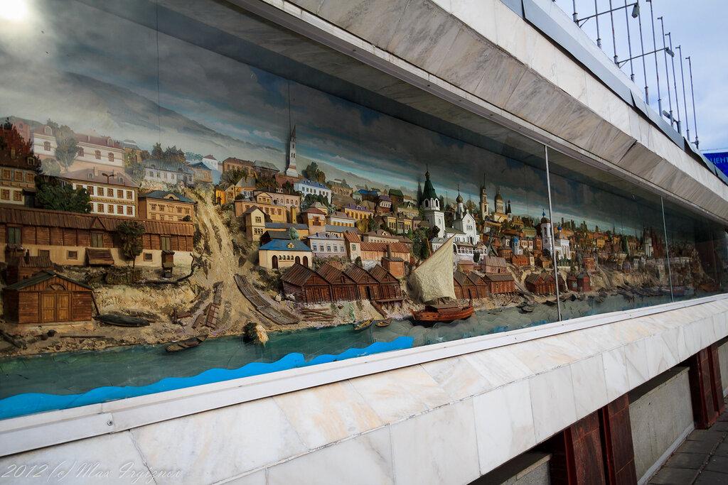 Исторический разрез Саратова