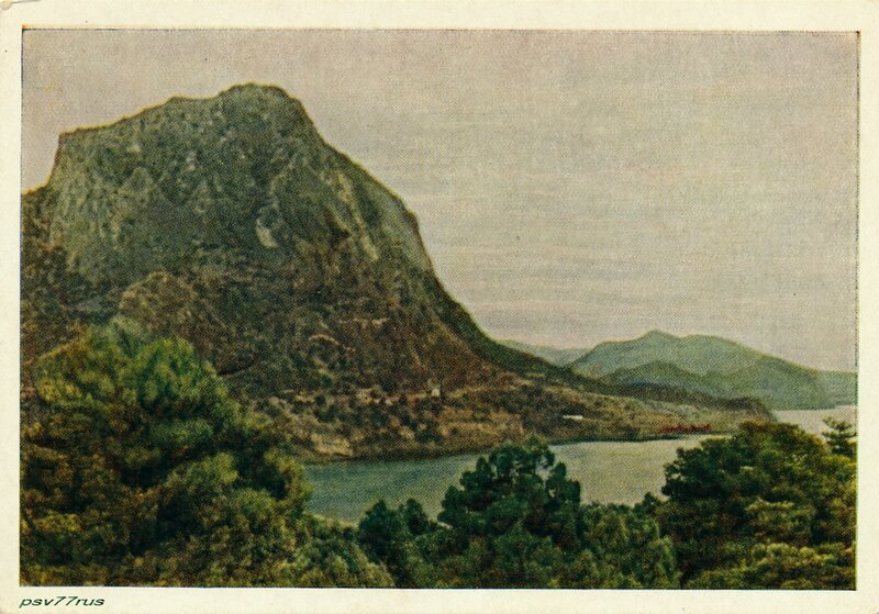 Гора Сокол у Судака
