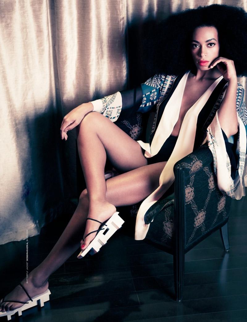 Solange Knowles в новом номере The Ground