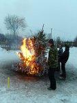 сжигание святочной ёлки