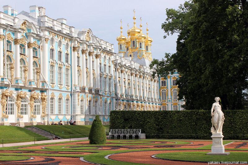 Екатерининский дворец в царском селе фото