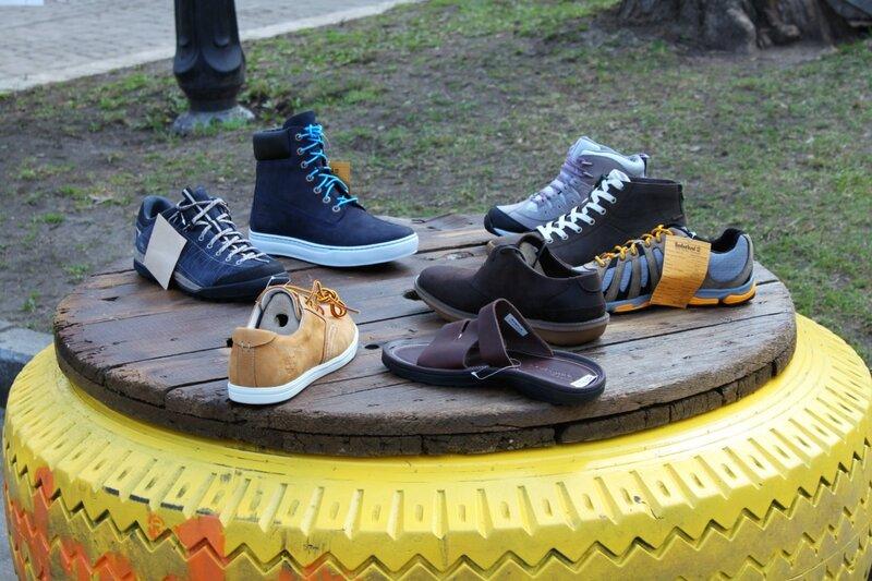 Выставка обуви в Мариинском парке