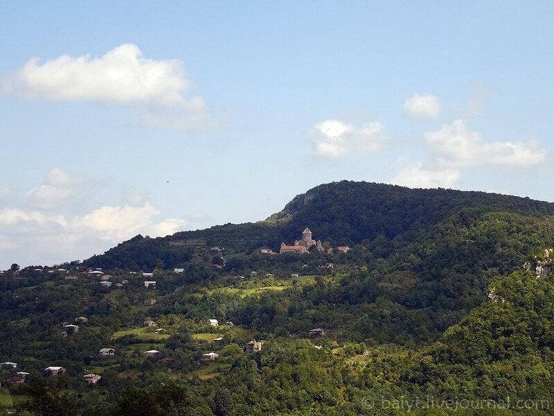 Монастырь Гелати и окрестности