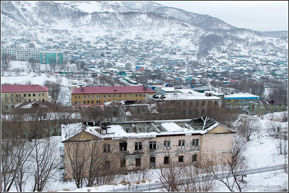 В Петропавловске огромное количество брошенных домов.
