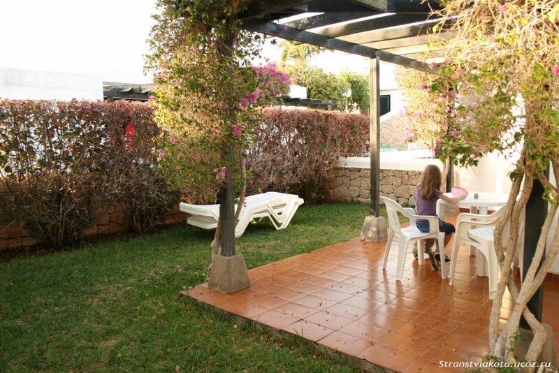 Сад при 1-спальном апартаменте в Los Cardones