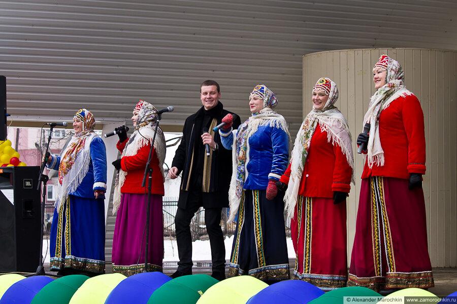 Выступление творческих коллективов | Масленица в Саранске 17.03.2013