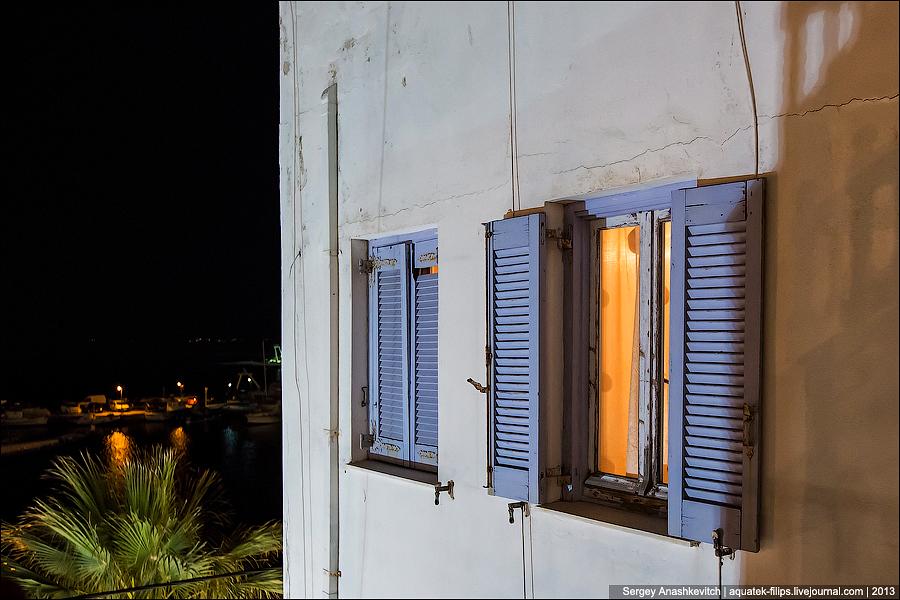 Переход Китнос-Наксос и ночной Наксос