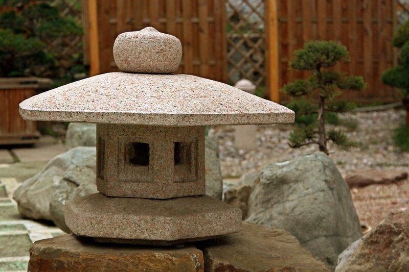Партенит.Японский сад камней.Орибе-торо
