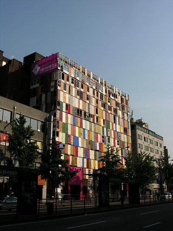 Дом 1000 дверей. южная Корея