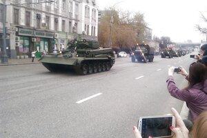 Репетиция Парада Победы 2013