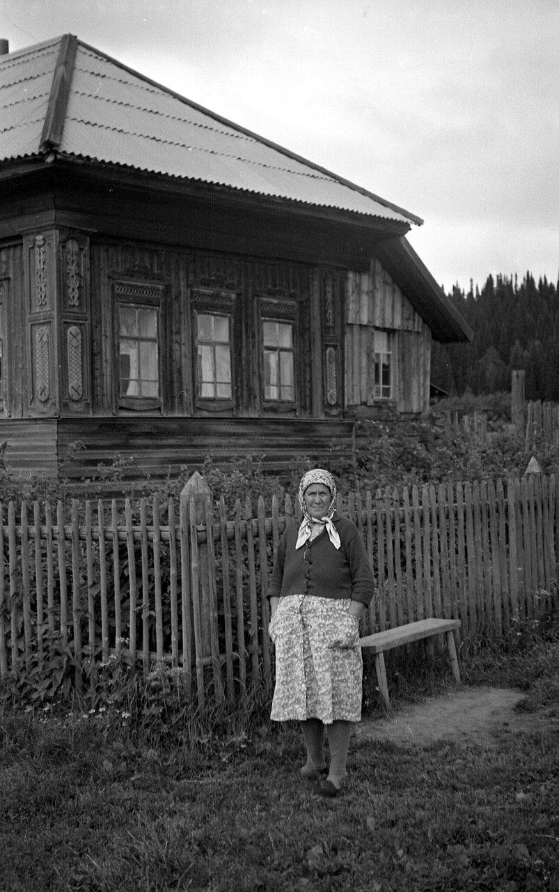 Деревня Лыва 1972.
