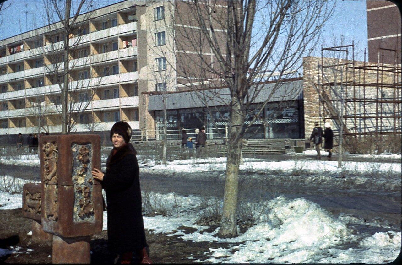 Малые архитектурные формы на пр.Ленина.