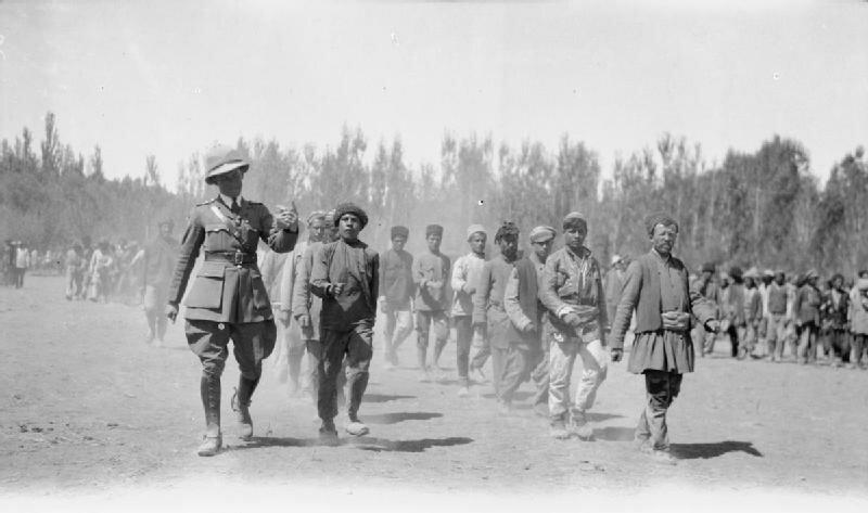 Британские войска «Данстерфорса» в Баку. 1917 - 1919