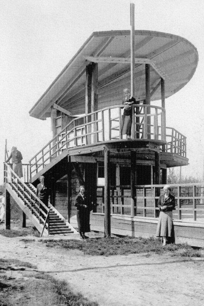 Смотровая вышка на станции Водная