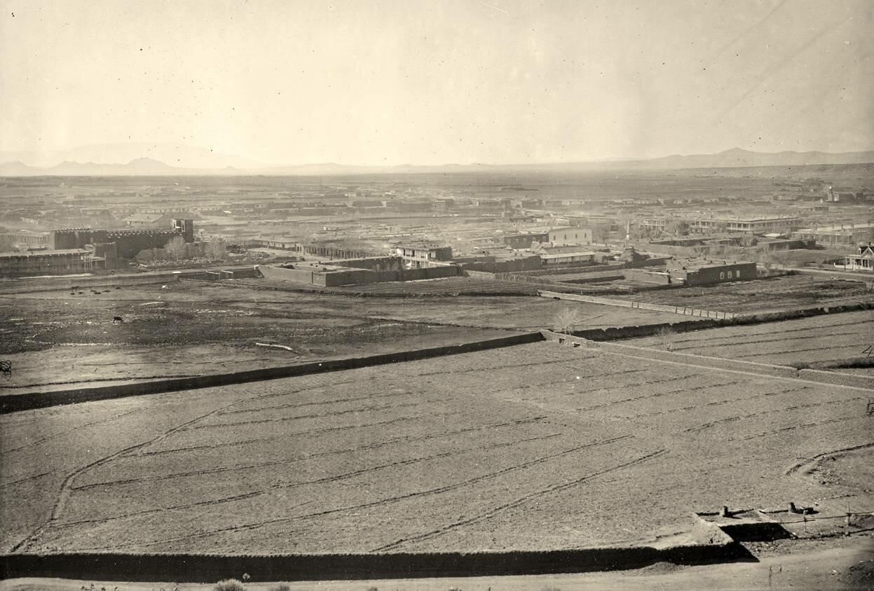 Санта-Фе, Нью-Мексико в 1873 году