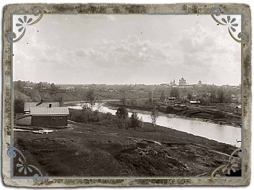 Вид с Сионской горы на Кашинку и Сретенский монастырь