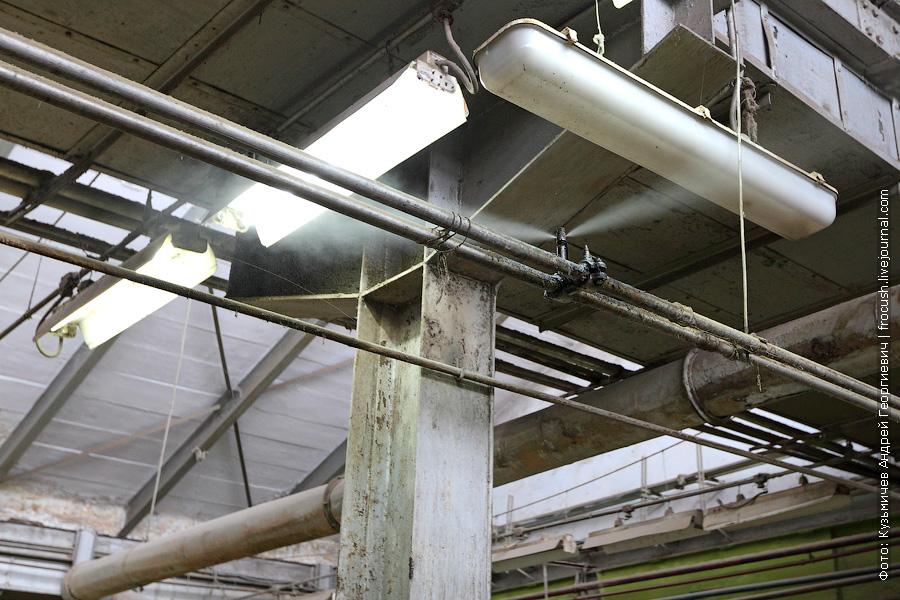 увлажнители воздуха на камвольном производстве