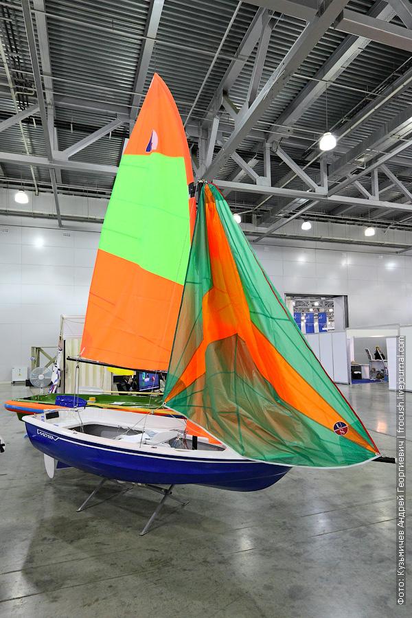 выставка катеров и яхт в Крокусе