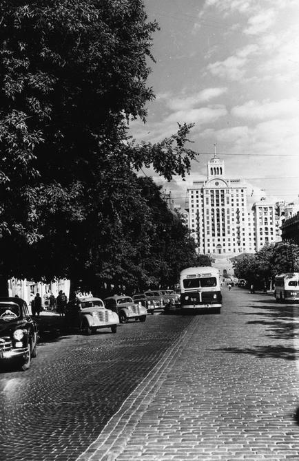 1955.08. Улица Ленина (ныне улица Богдана Хмельницкого)